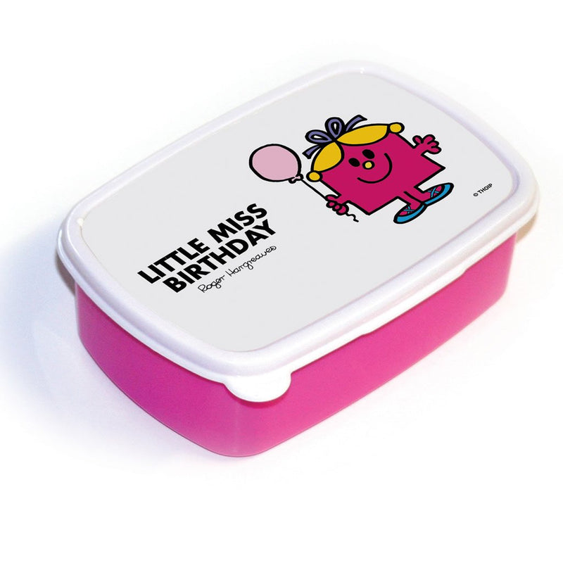 Little Miss Birthday Lunchbox (Pink)