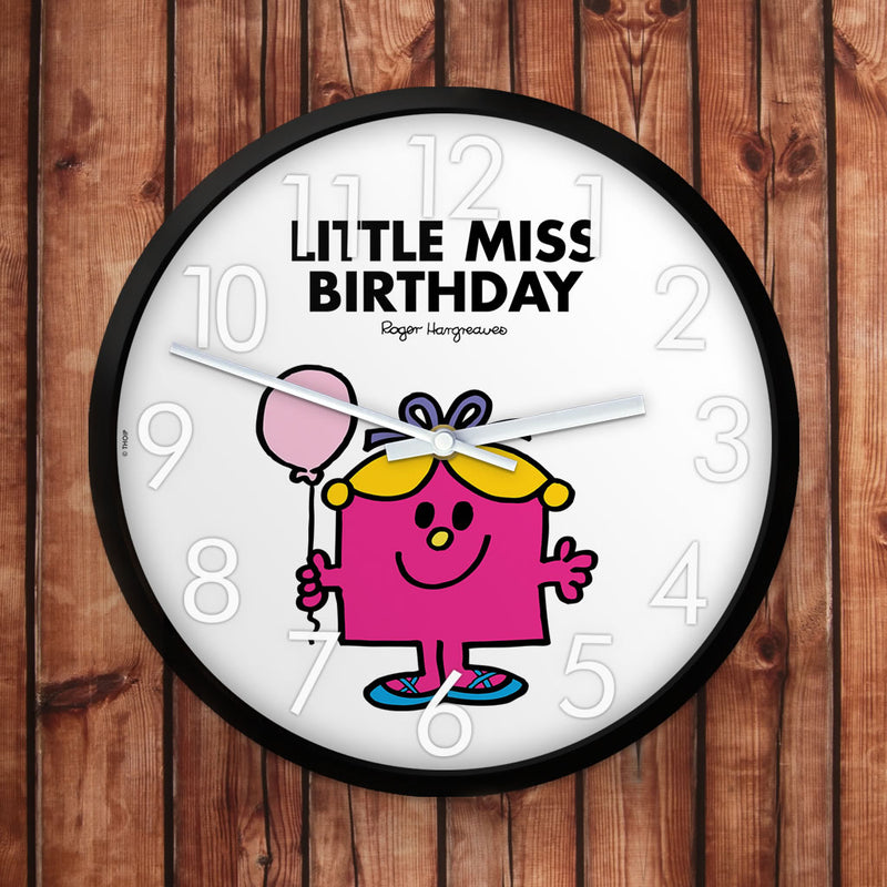 Little Miss Birthday Personalised Clock (Lifestyle)