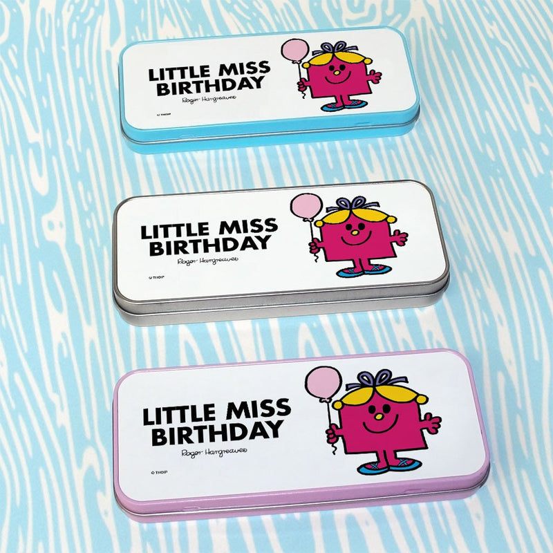Little Miss Birthday Pencil Case Tin (Lifestyle)