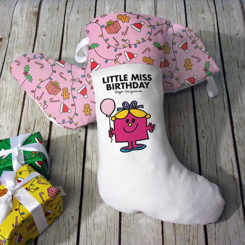 Little Miss Birthday Christmas Stocking (Lifestyle)