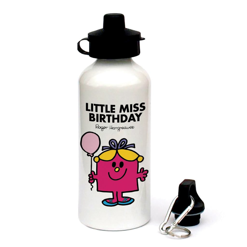 Little Miss Birthday Water Bottle