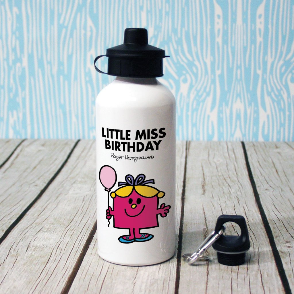 Little Miss Birthday Water Bottle (Lifestyle)