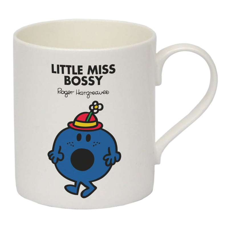 Little Miss Bossy Bone China Mug
