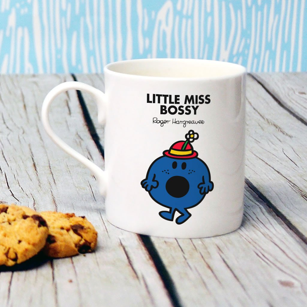 Little Miss Bossy Bone China Mug (Lifestyle)