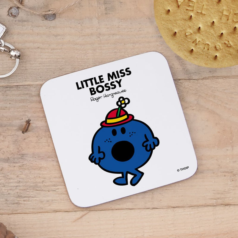 Little Miss Bossy Cork Coaster (Lifestyle)
