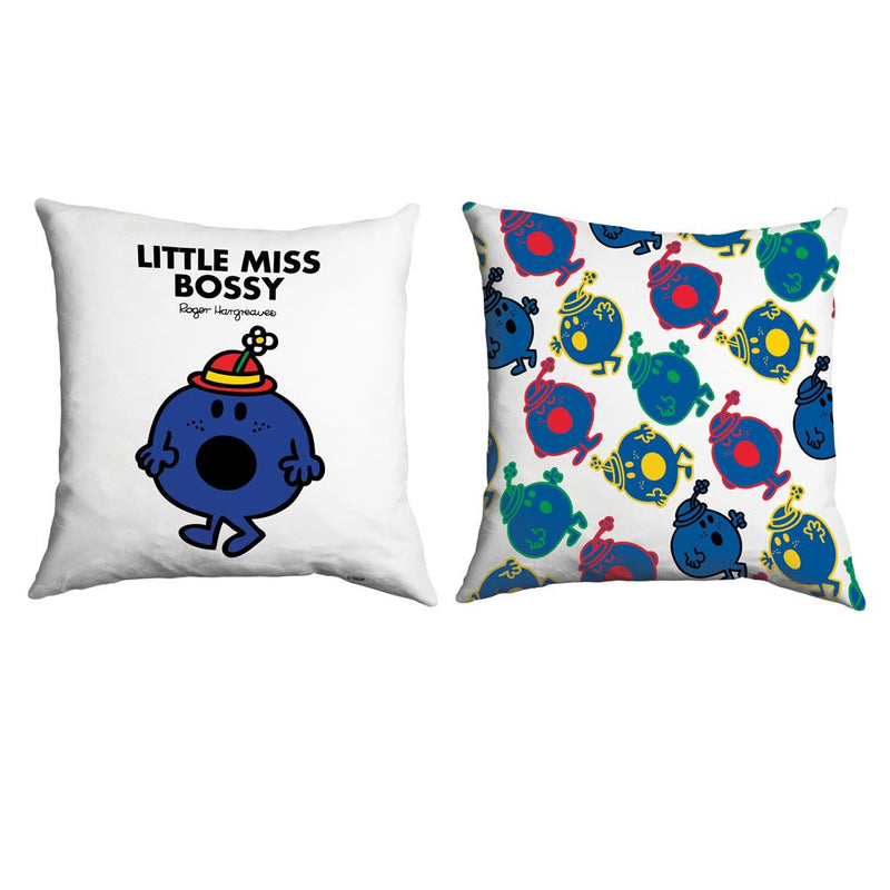 Little Miss Bossy Micro Fibre Cushion