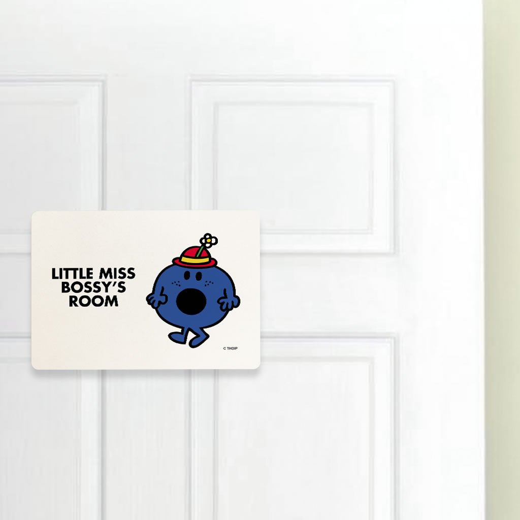 Little Miss Bossy Door Plaque (Lifestyle)