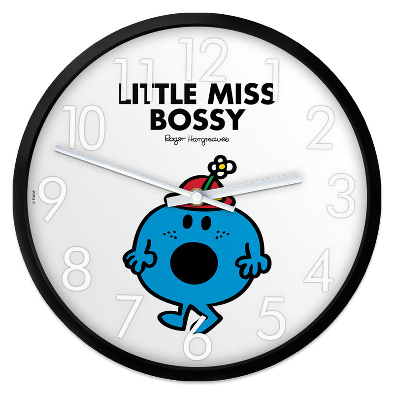 Little Miss Bossy Personalised Clock