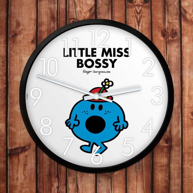 Little Miss Bossy Personalised Clock (Lifestyle)