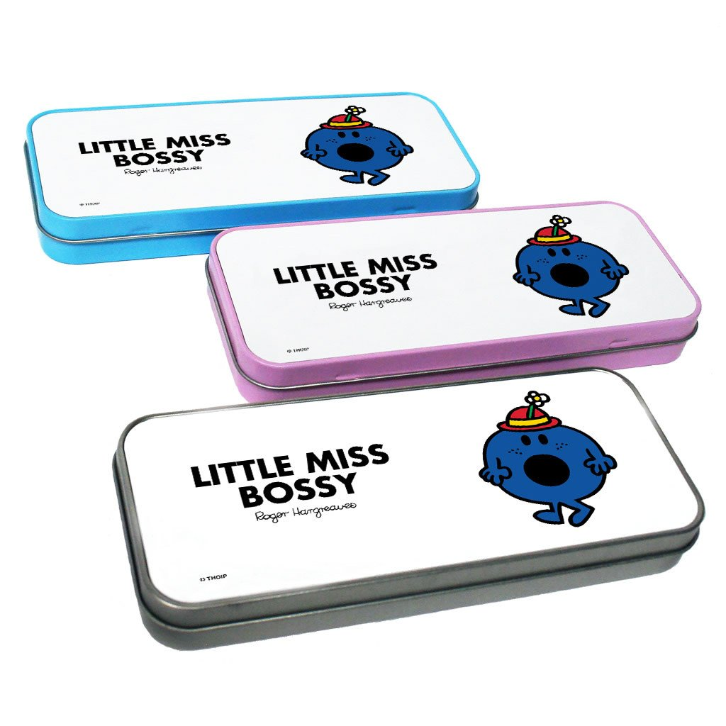 Little Miss Bossy Pencil Case Tin