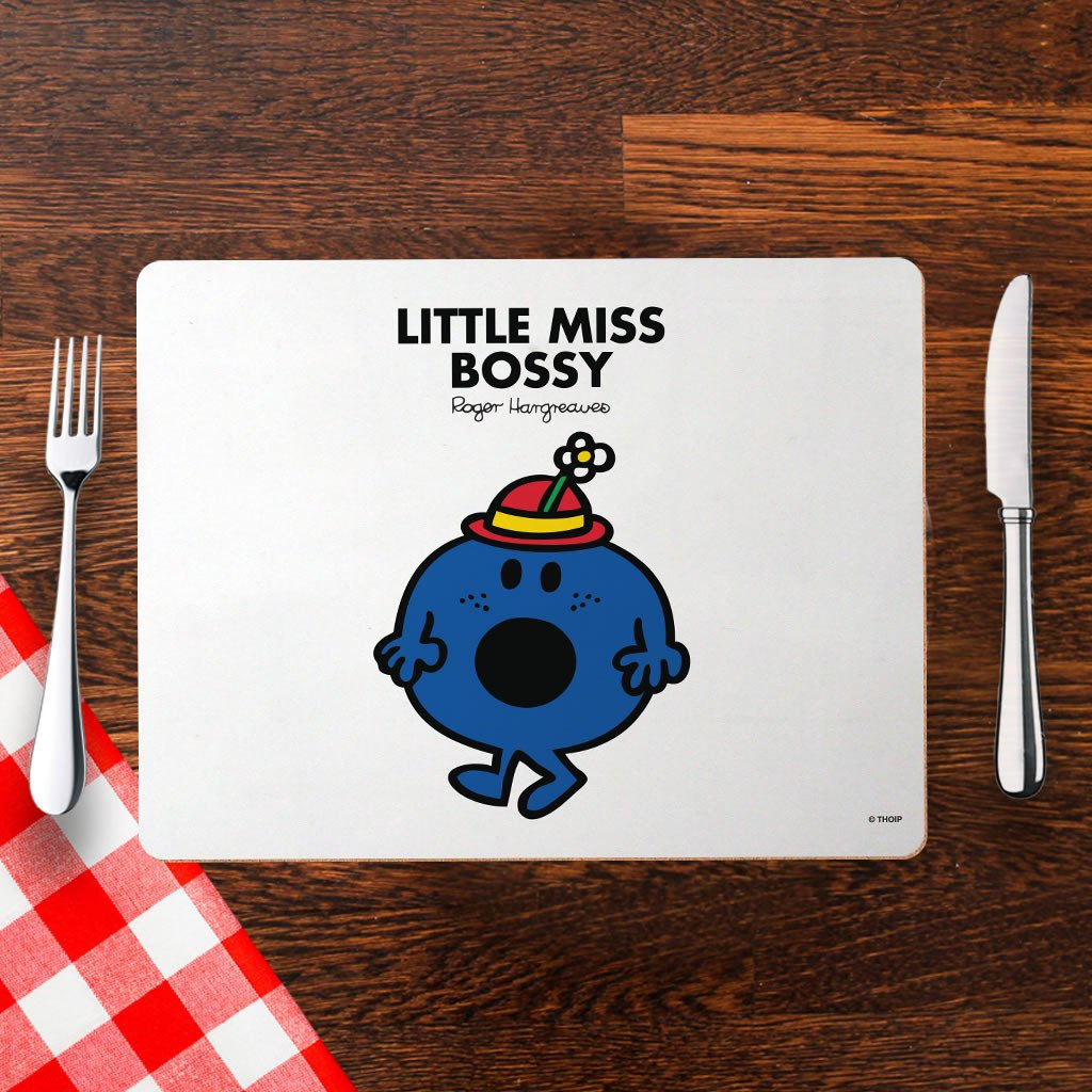 Little Miss Bossy Cork Placemat (Lifestyle)