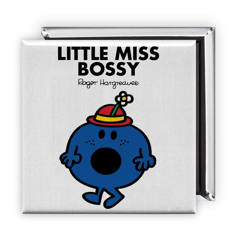 Little Miss Bossy Square Magnet