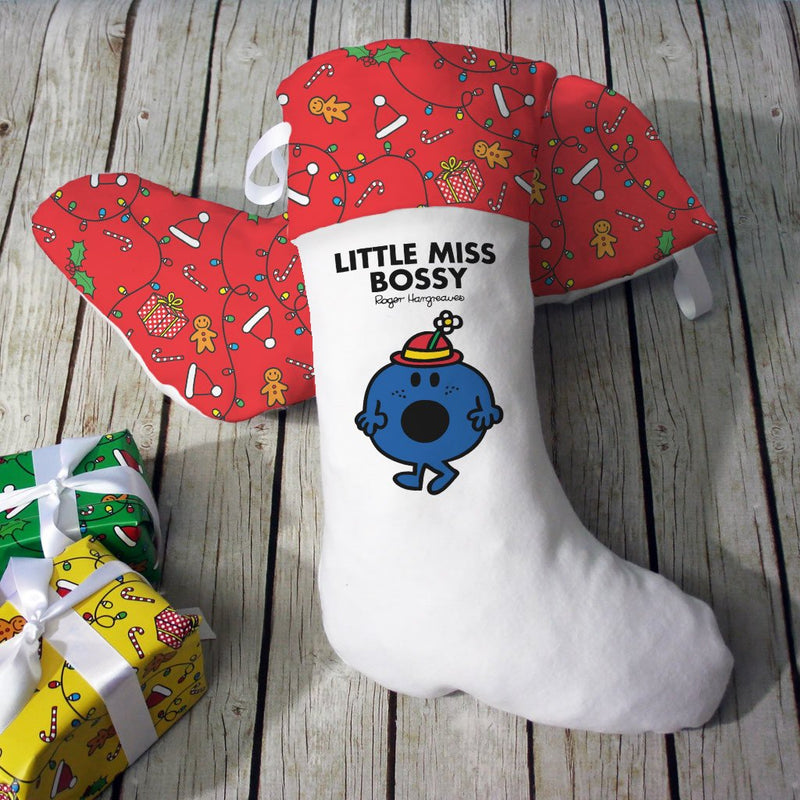 Little Miss Bossy Christmas Stocking (Lifestyle)