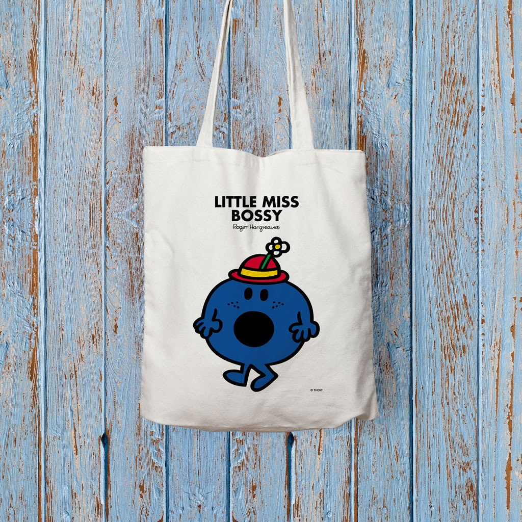 Little Miss Bossy Long Handled Tote Bag (Lifestyle)