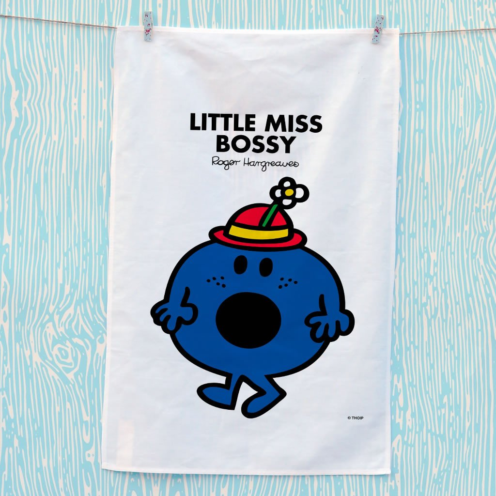 Little Miss Bossy Tea Towel (Lifestyle)