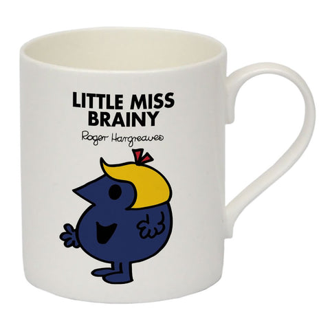 Little Miss Brainy Bone China Mug