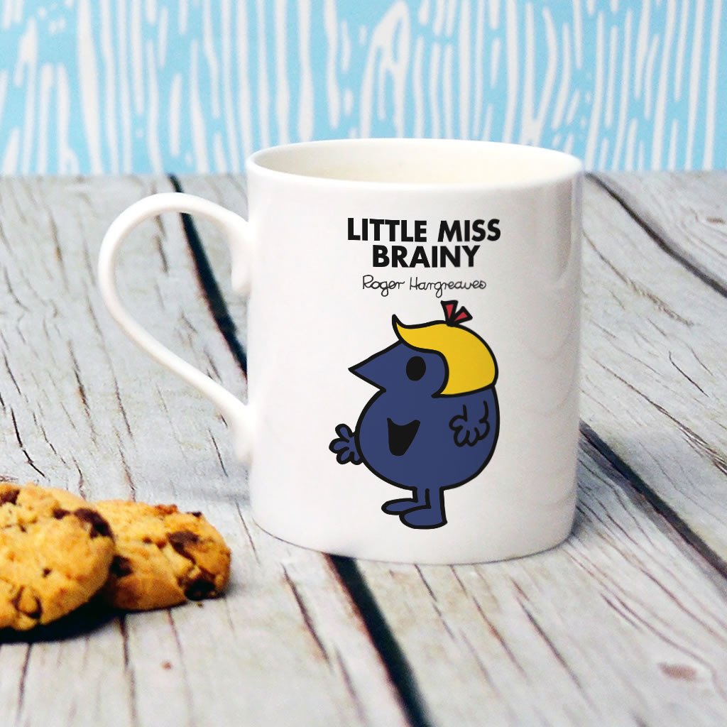 Little Miss Brainy Bone China Mug (Lifestyle)