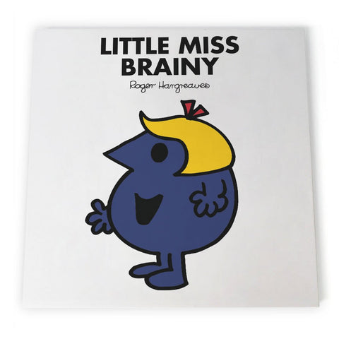 Little Miss Brainy Canvas