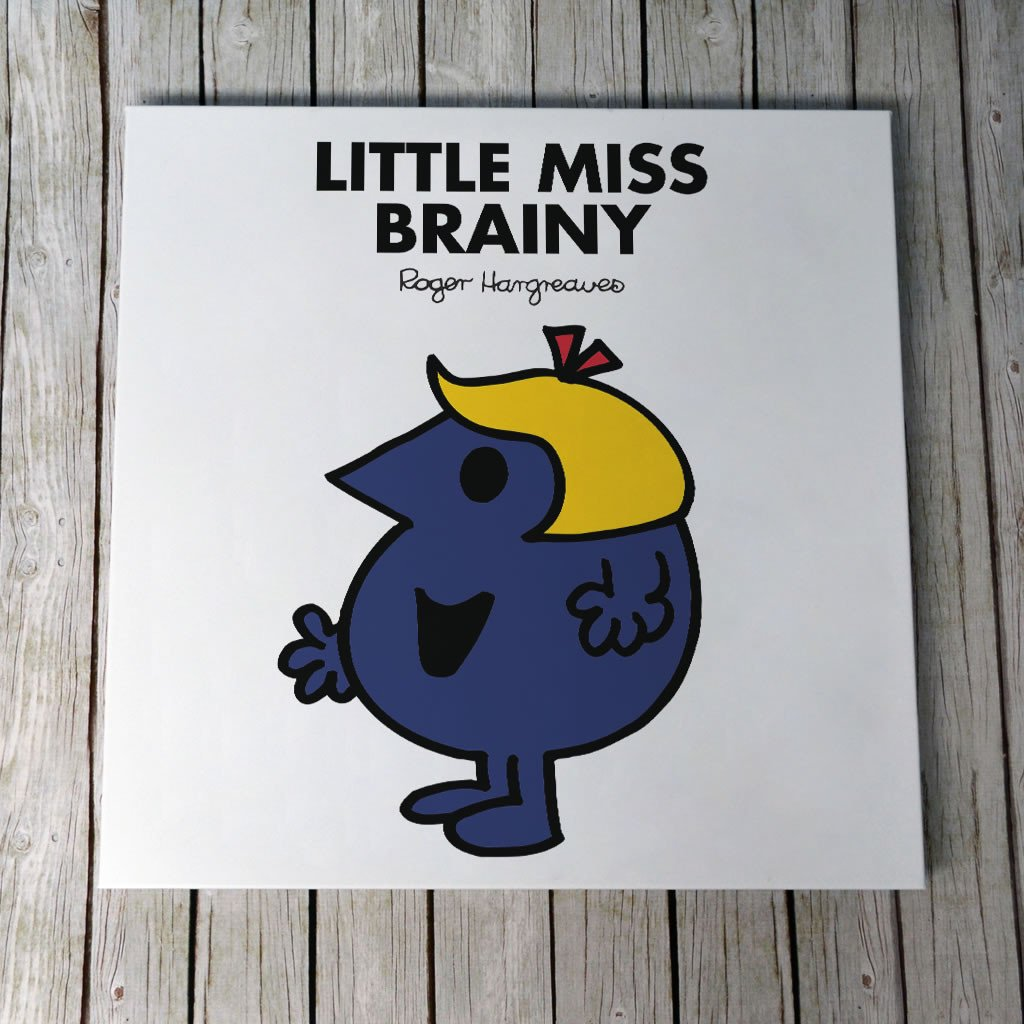 Little Miss Brainy Canvas (Lifestyle)