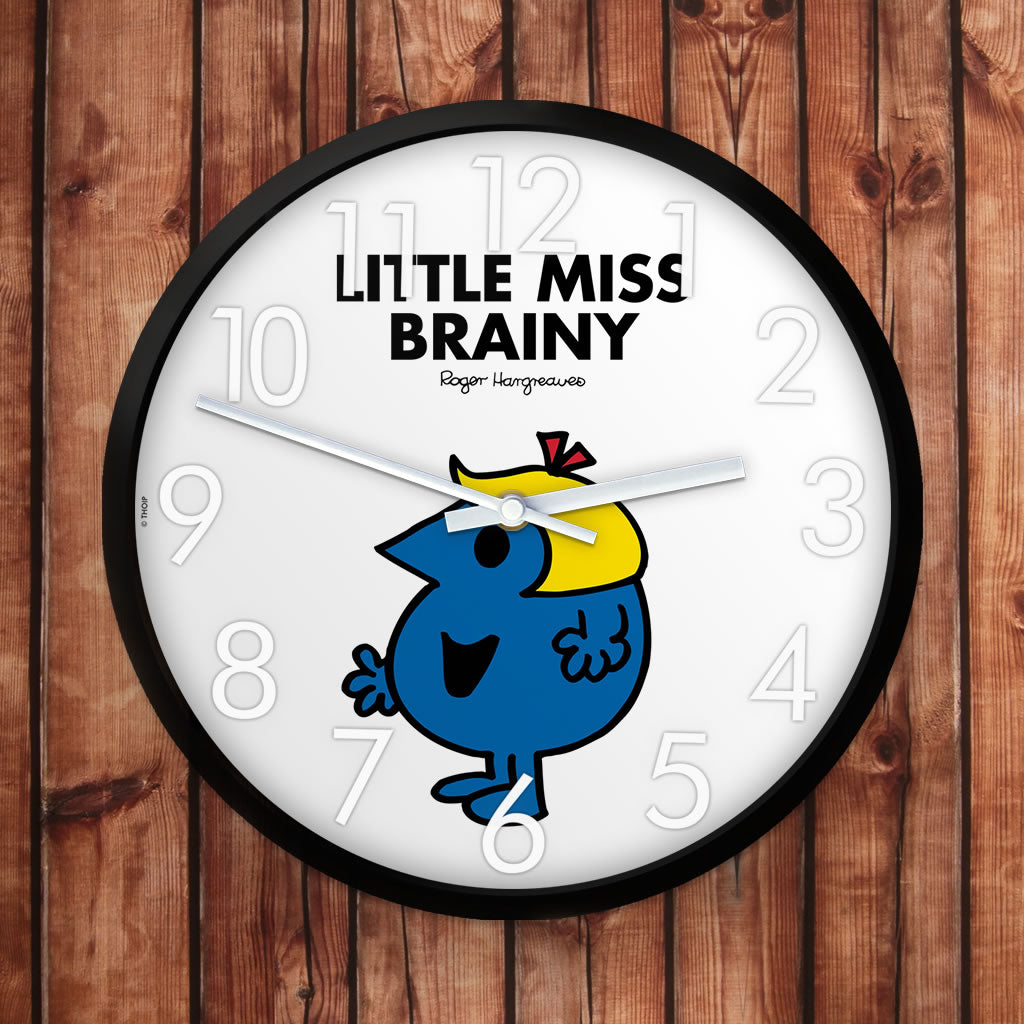 Little Miss Brainy Personalised Clock (Lifestyle)