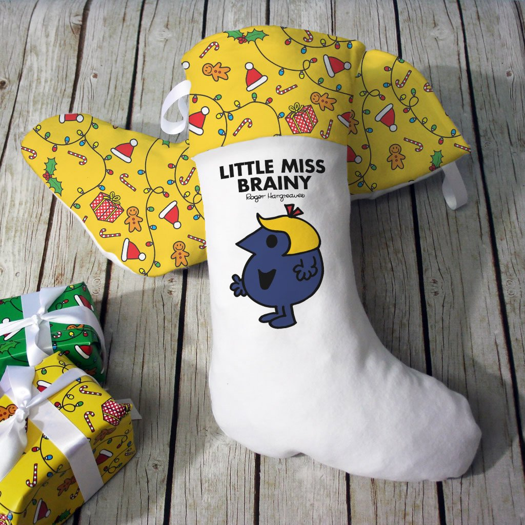 Little Miss Brainy Christmas Stocking (Lifestyle)