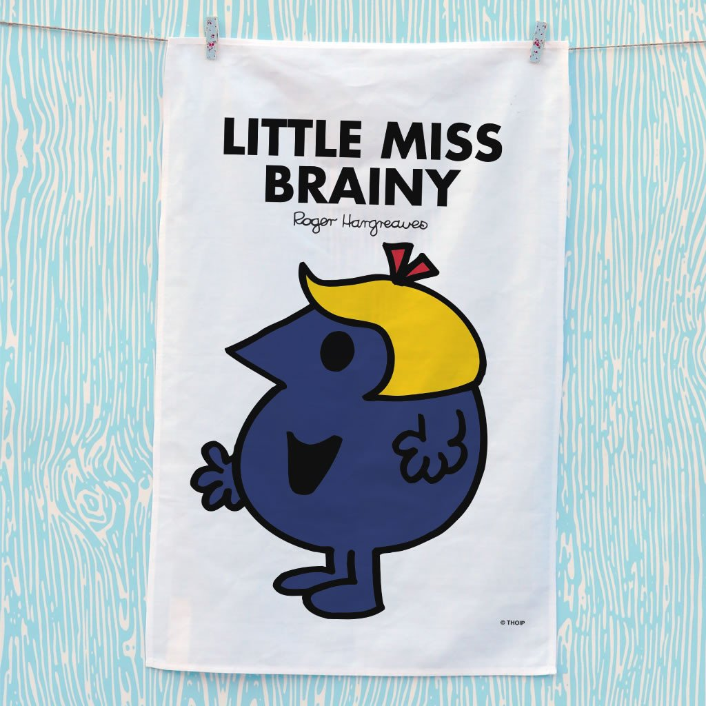 Little Miss Brainy Tea Towel (Lifestyle)