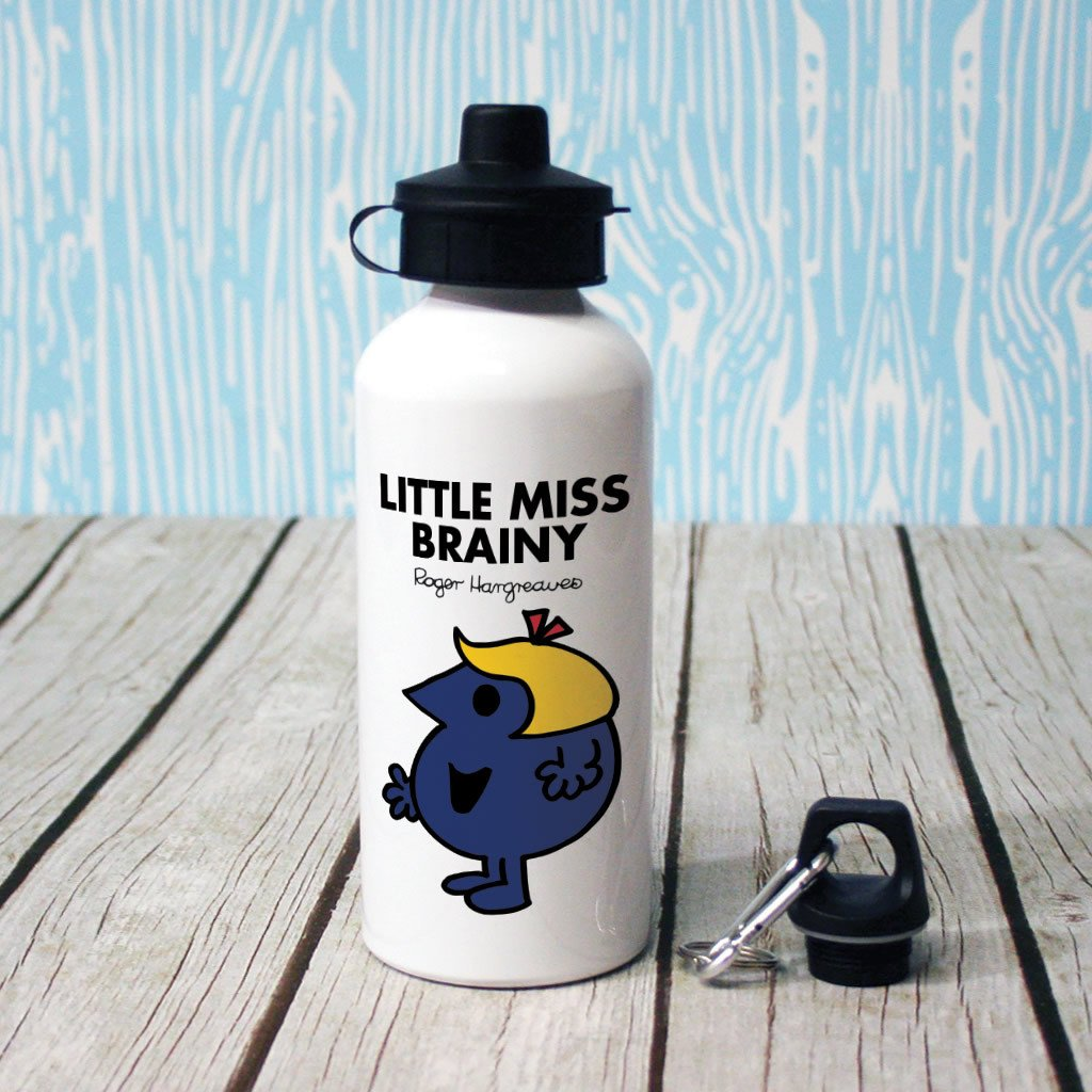 Little Miss Brainy Water Bottle (Lifestyle)