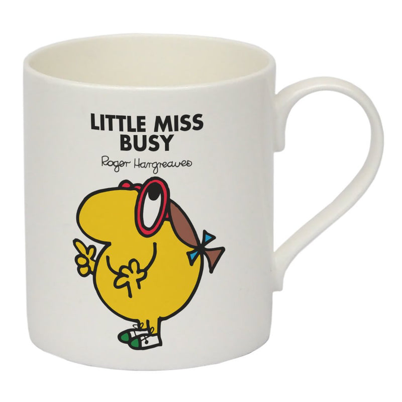Little Miss Busy Bone China Mug