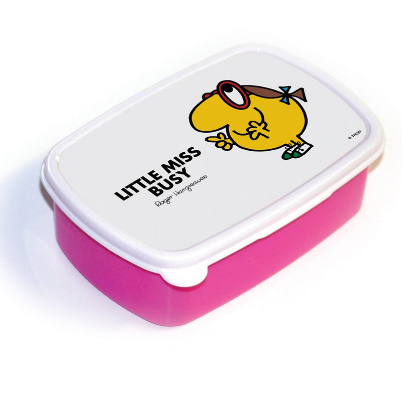 Little Miss Busy Lunchbox (Pink)