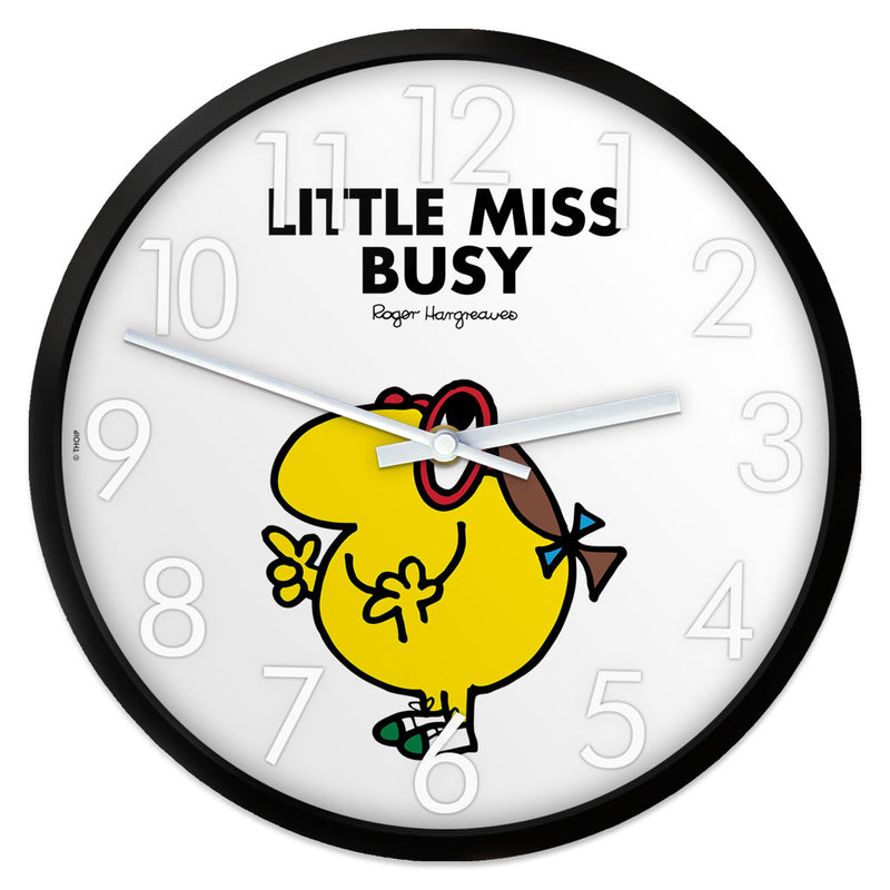 Little Miss Busy Personalised Clock