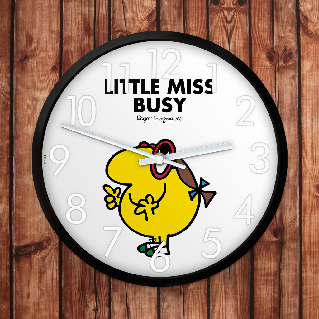 Little Miss Busy Personalised Clock (Lifestyle)