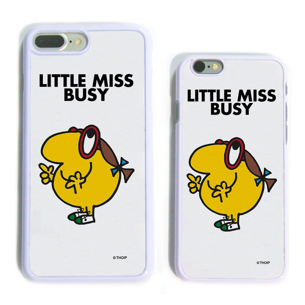 Little Miss Busy White Phone Case