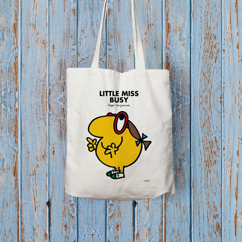 Little Miss Busy Long Handled Tote Bag (Lifestyle)