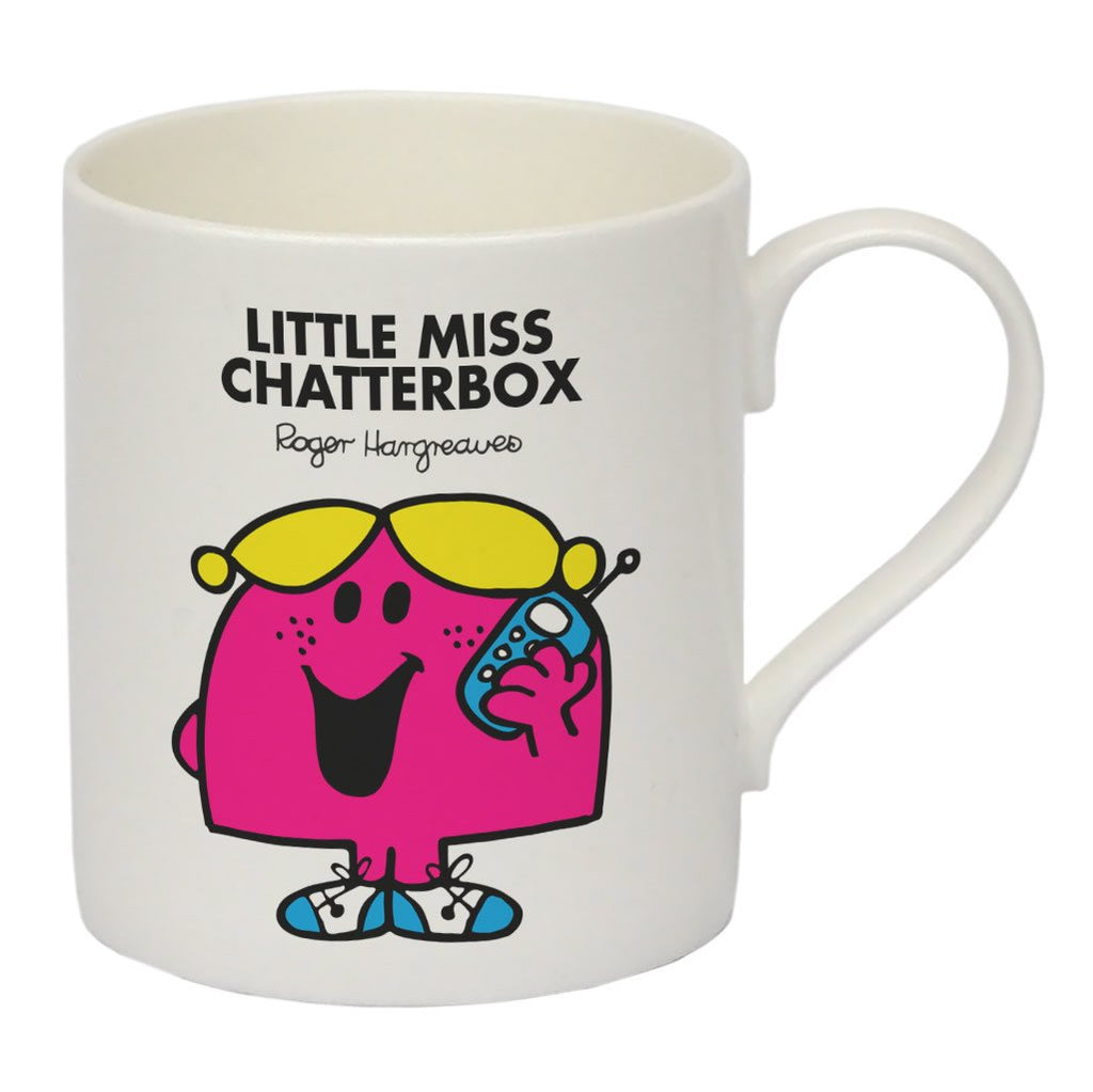 Little Miss Chatterbox Bone China Mug