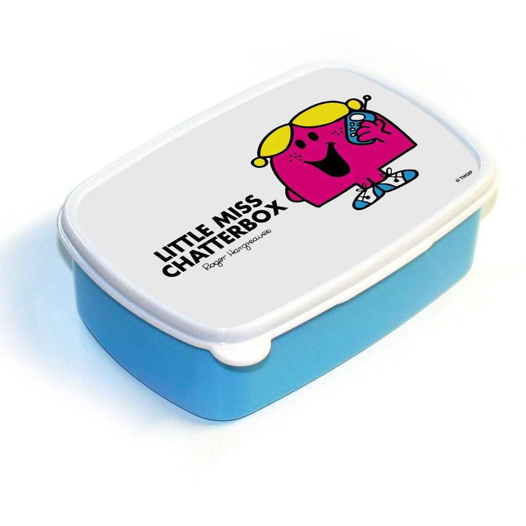Little Miss Chatterbox Lunchbox (Blue)