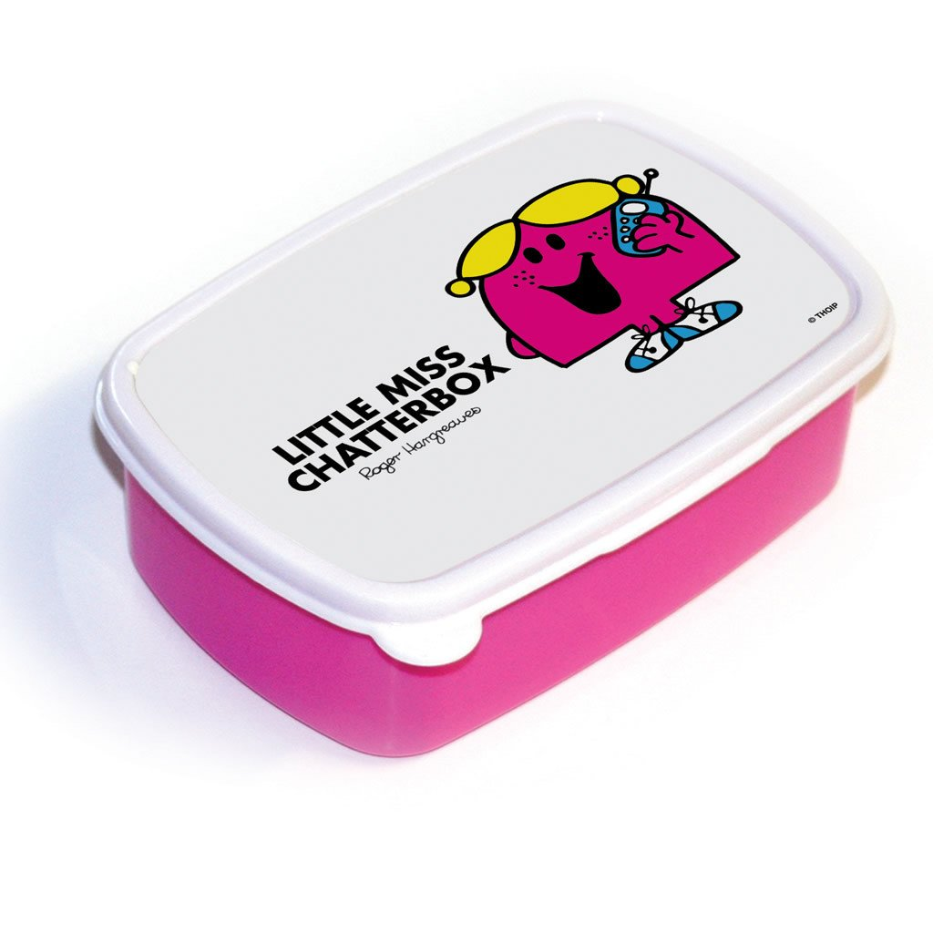 Little Miss Chatterbox Lunchbox (Pink)