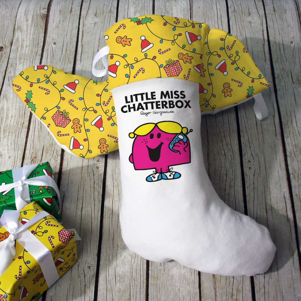 Little Miss Chatterbox Christmas Stocking (Lifestyle)