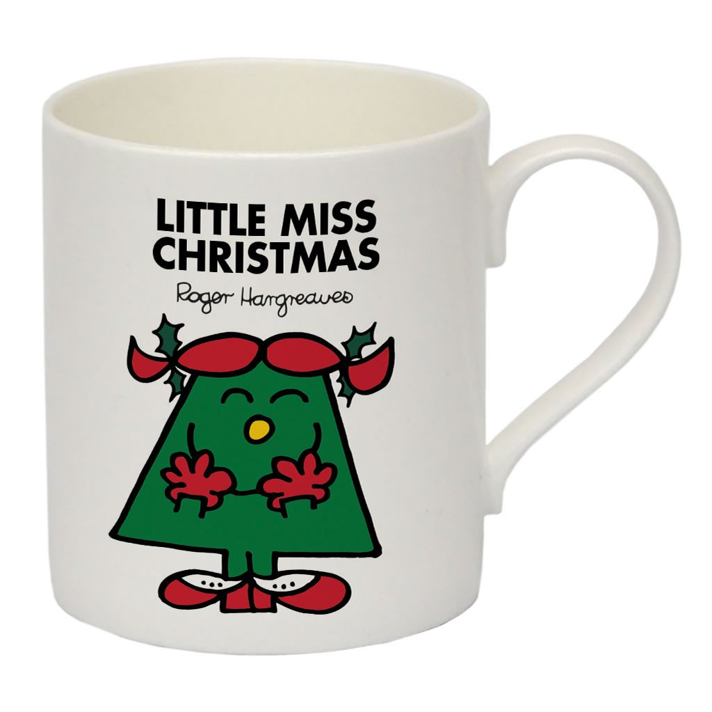 Little Miss Christmas Bone China Mug