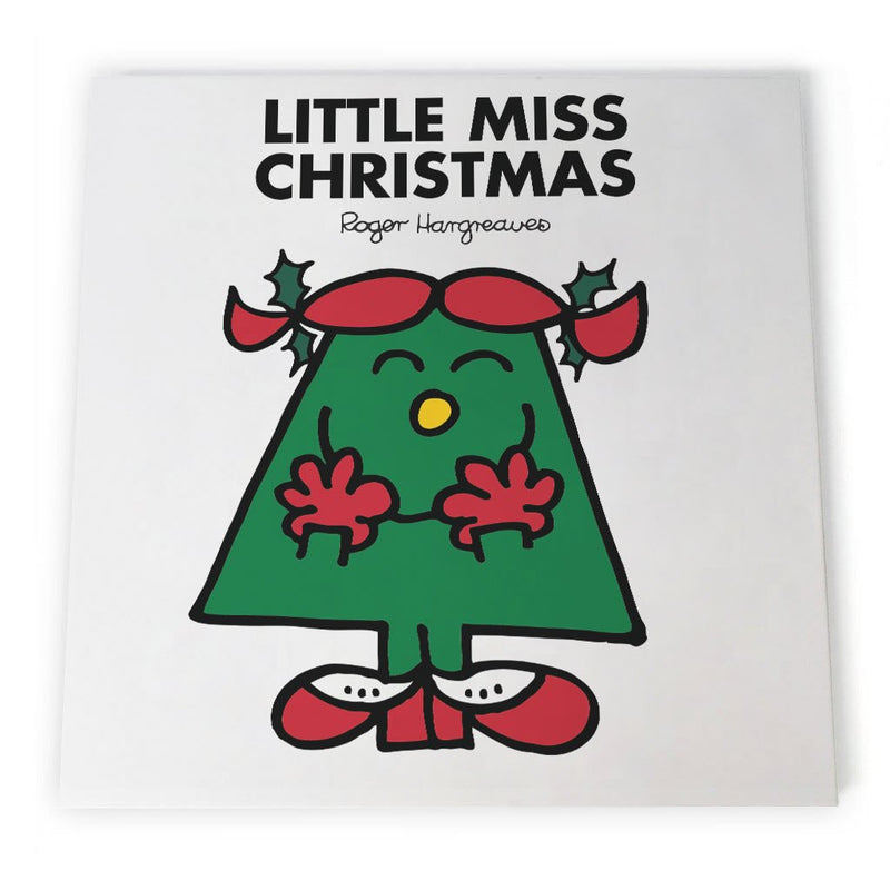 Little Miss Christmas Canvas