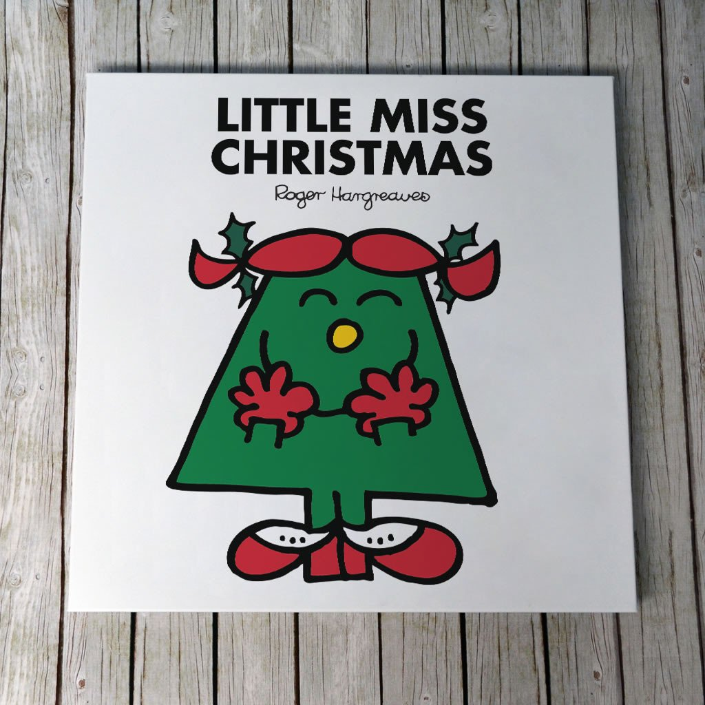 Little Miss Christmas Canvas (Lifestyle)