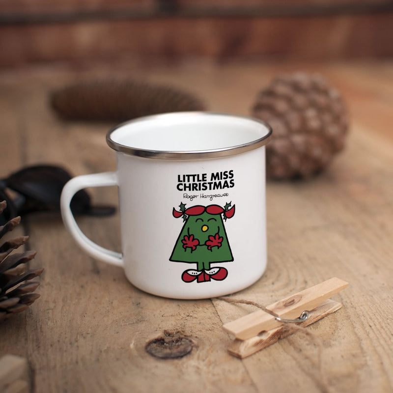 Little Miss Christmas Children's Mug (Lifestyle)