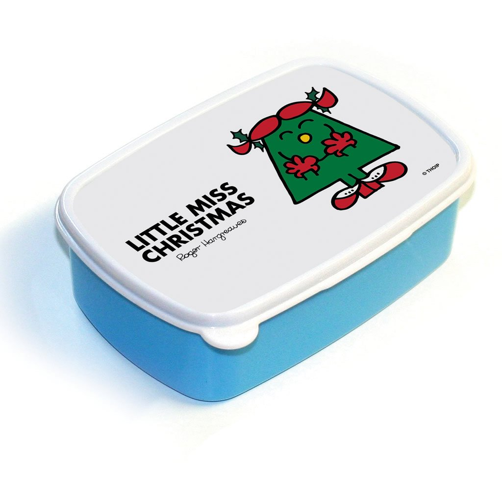Little Miss Christmas Lunchbox (Blue)