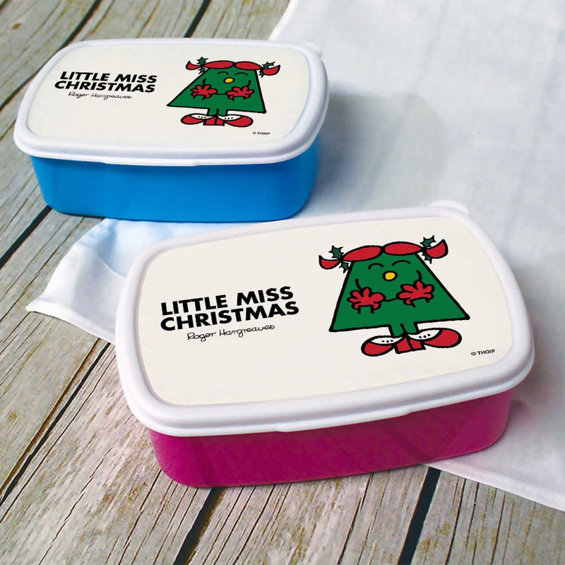 Little Miss Christmas Lunchbox (Lifestyle)