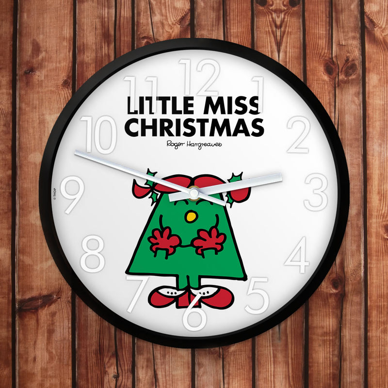 Little Miss Christmas Personalised Clock (Lifestyle)
