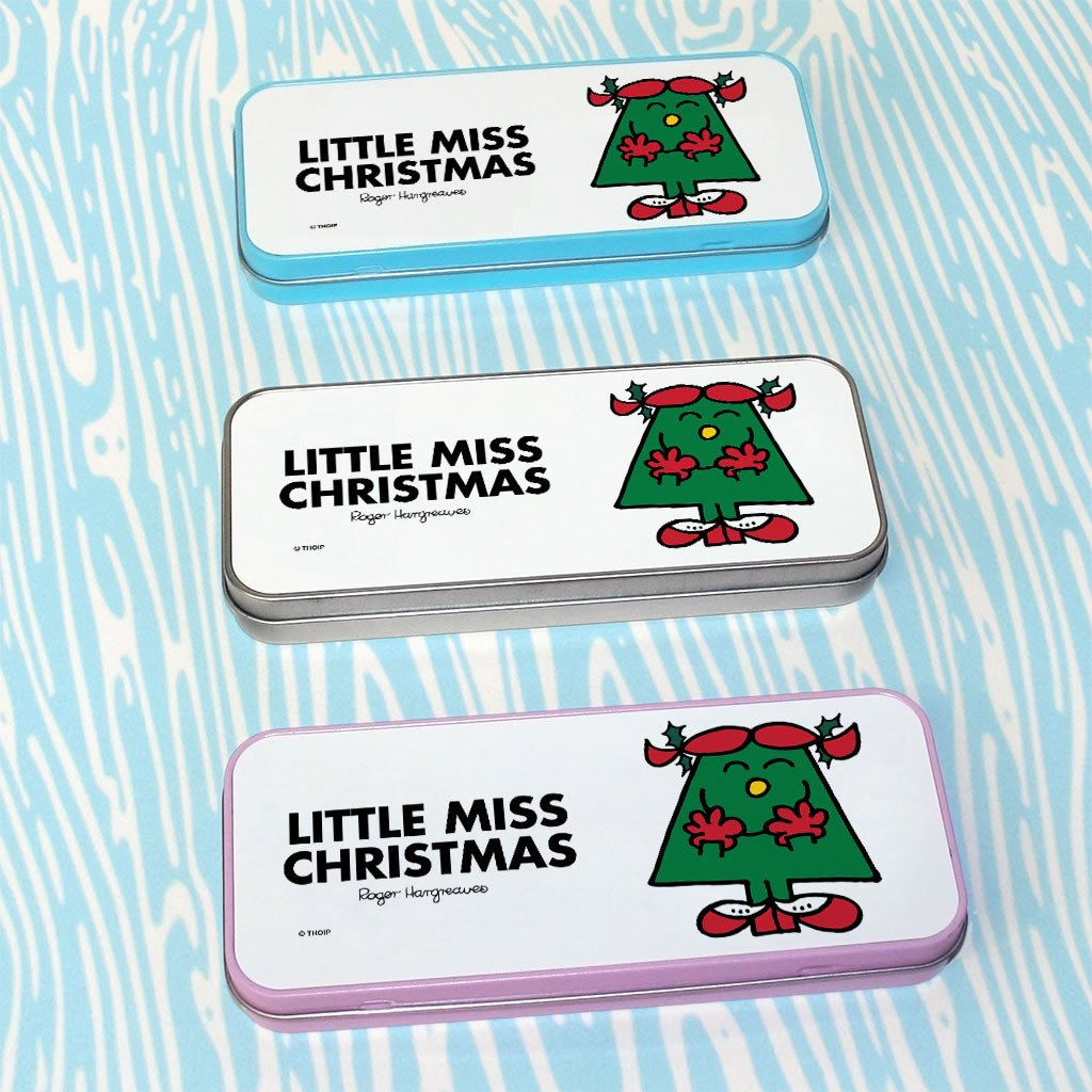 Little Miss Christmas Pencil Case Tin (Lifestyle)