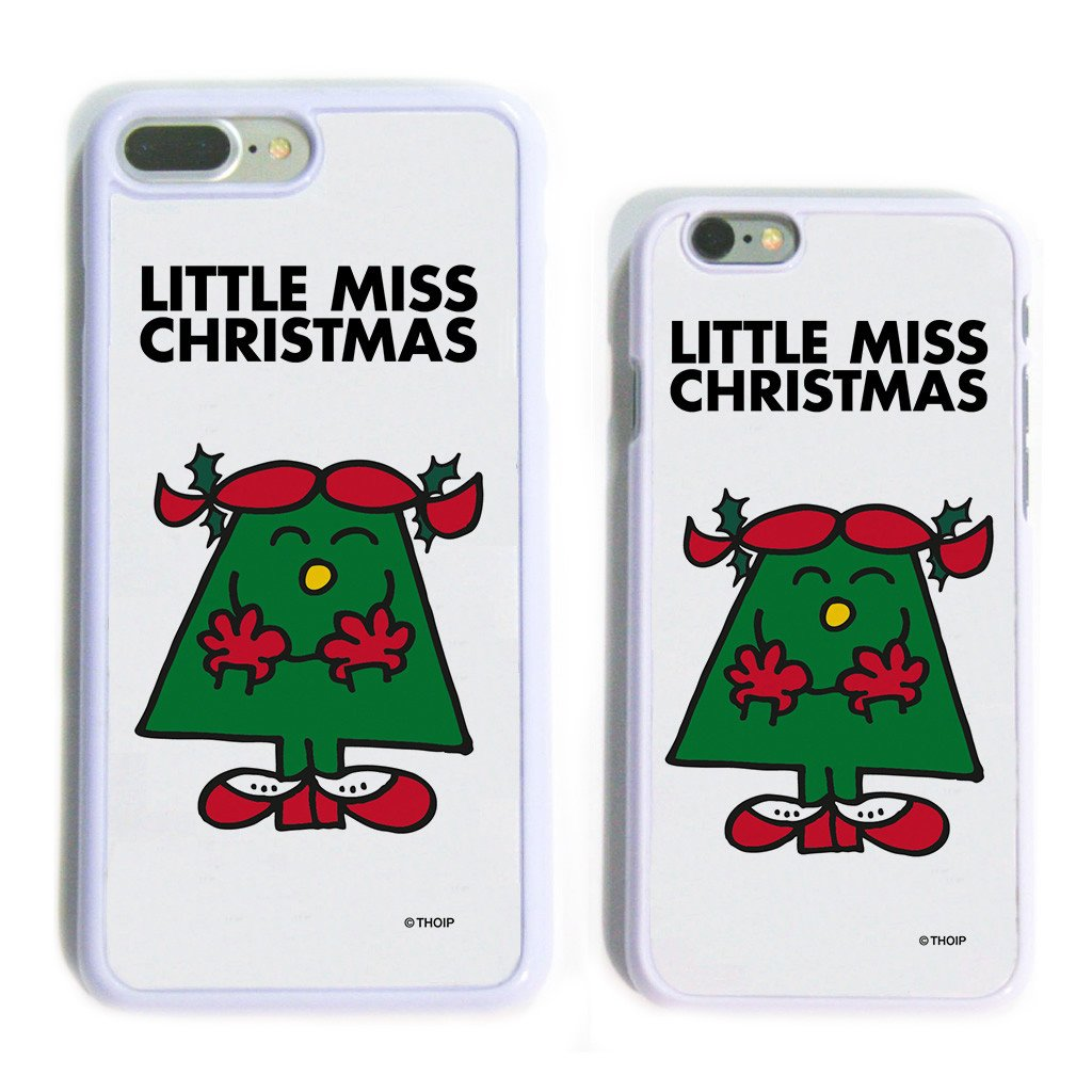 Little Miss Christmas White Phone Case