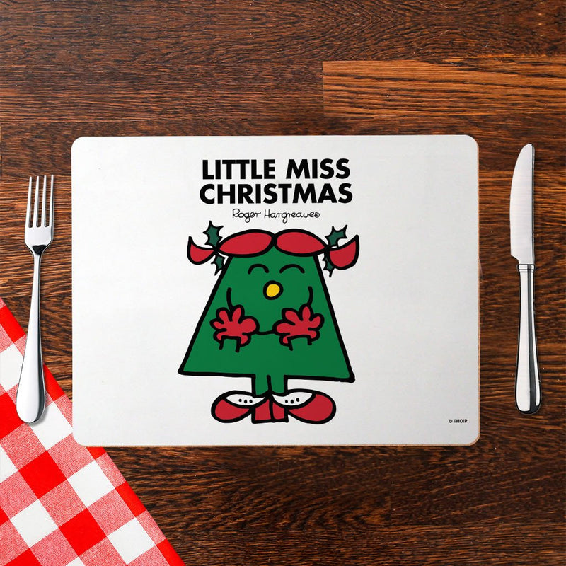Little Miss Christmas Cork Placemat (Lifestyle)