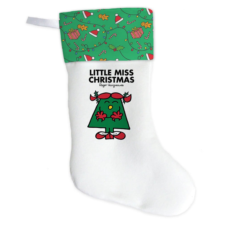 Little Miss Christmas Christmas Stocking (Front)