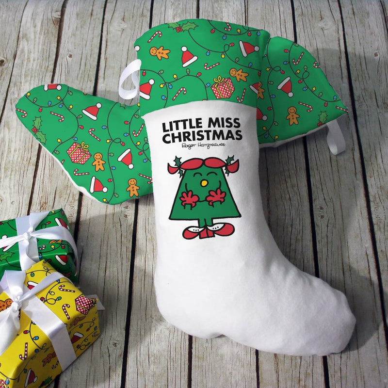 Little Miss Christmas Christmas Stocking (Lifestyle)