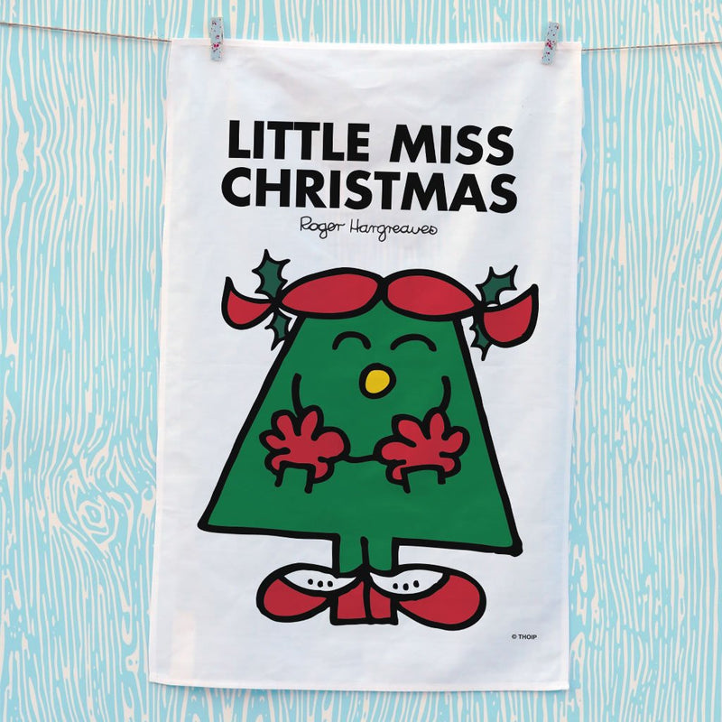 Little Miss Christmas Tea Towel (Lifestyle)